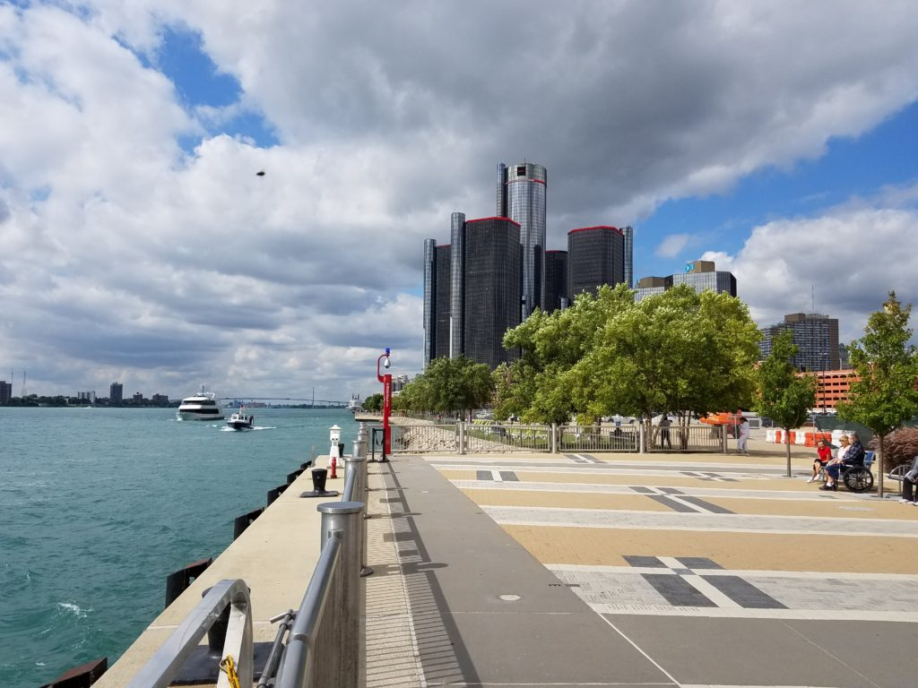 The Detroit Riverfront Phase I