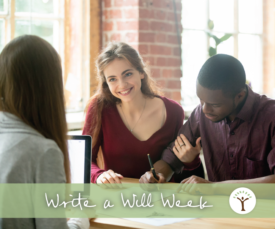 Write a Will Week at CFGFW 2019